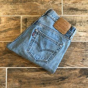 Levi's | Light Blue Vintage 501 High Rise Jeans